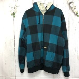 VANS OFF THE WALL FULL ZIPPED HOODIE JACKET  XL